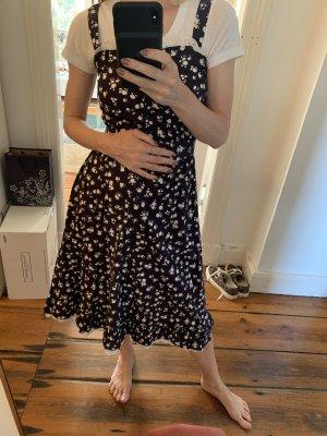 Vintage Dress aus New York Blumenkleid 50s Flowerprint 34