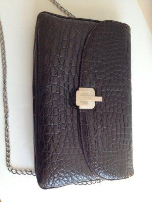 Vintage Echt Kroko Krokodil Tasche Luxus Handtasche Classic Bag