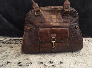 Vintage Echtleder Handtasche von Medici