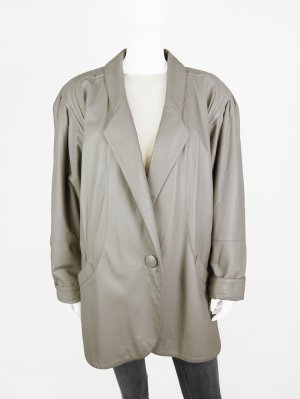 Leather Jacket beige leather