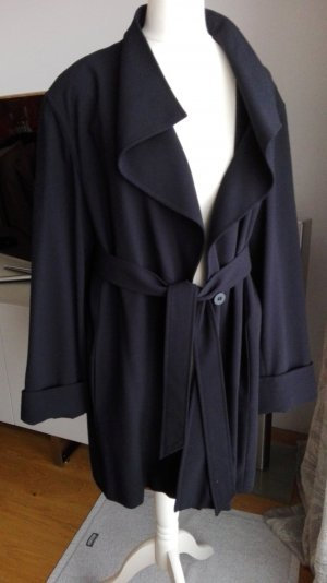 Escada Oversized Jacket dark blue new wool