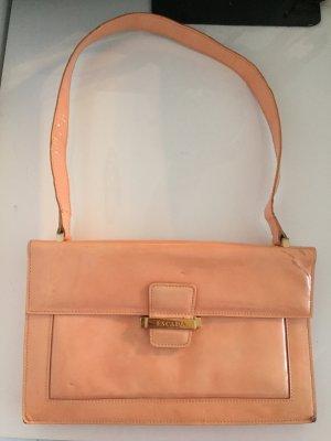 Vintage Escada Lackleder Handtasche Peach