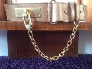 Vintage Escada Ledergürtel Hermès-Style