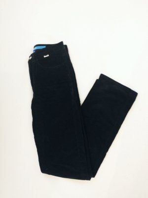 Escada Sport Pantalon en velours côtelé noir