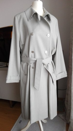 Escada Trench Coat light grey new wool