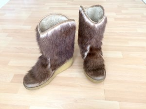 Fur Boots multicolored fur