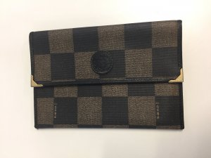 Vintage FENDI Brieftasche Monogram Canvas
