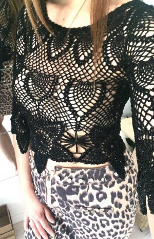 beclaimed vintage Camicetta a blusa nero