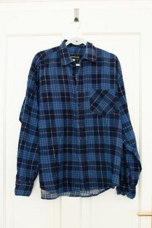 Vintage Flannel Shirt multicolored cotton
