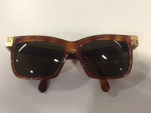 Vintage Gianfranco Ferre Sonnenbrille Horn-Optik