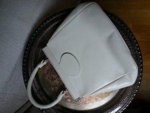 Vintage Goldpfeil Handtasche / Brauttasche, weiß!