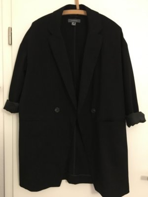Vintage Granny Oversized langer Blazer Doppelreiher Neu Gr. 36 Mantel