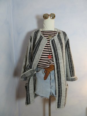 Vintage Knitted Coat multicolored
