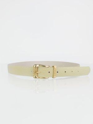 Cinturón pélvico beige-color oro Imitación de cuero