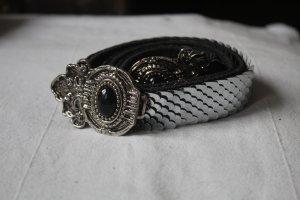 Vintage Gürtel, Metallschuppen, *ORGINAL