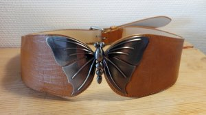 Vintage, Gürtel, Schmetterling, kein Leder