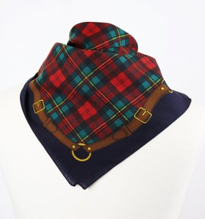 Vintage Neckerchief multicolored