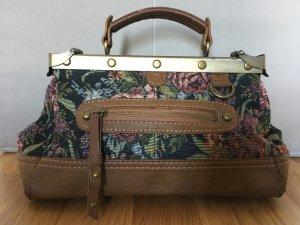 Vintage Handtasche Arzttasche ZARA geräumig