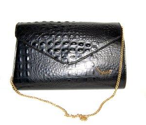 Vintage Handtasche - Clutch Kroko Tasche