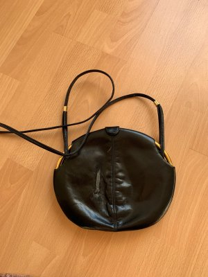 Handbag black-bronze-colored
