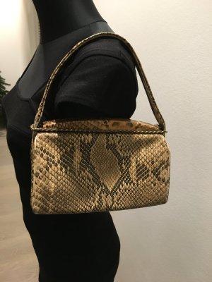 Vintage Handtasche im aktuellen Schlangenledermuster