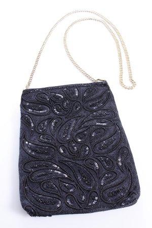 VINTAGE Handtasche Paisley-Pailletten-Muster