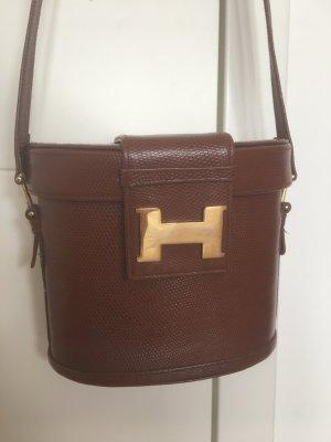Vintage Hard Leder Tasche