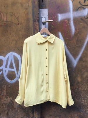 Blouse-chemisier jaune