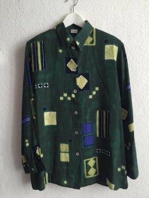 Vintage Hemd Geometrisch