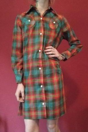 Vintage Hemd Kleid