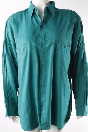 Vintage Hemdbluse grün