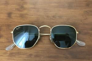 Ray Ban Zonnebril goud