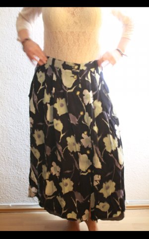Vintage High Waist Maxi Rock Basler