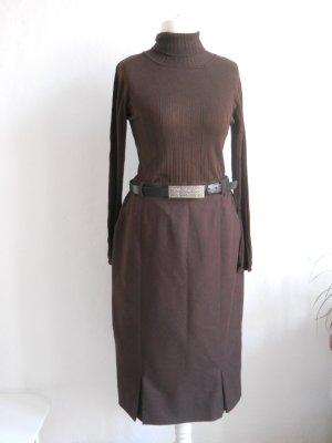 Vintage High Waist Skirt brown