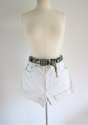 Vintage High Waist Shorts, Stooker Shorts creme, Festival blogger alternative