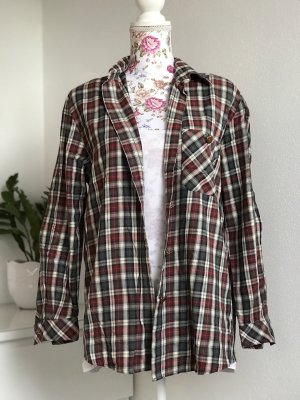 Lumberjack Shirt dark red-forest green