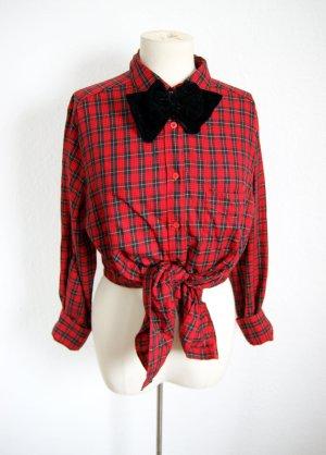 Vintage Holzfällerhemd, kariertes oversized Hemd, 90er grunge