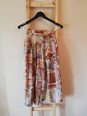 Vintage Pantalone culotte multicolore