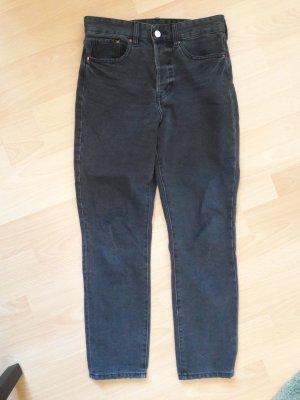 Vintage Hose in grau von H&M