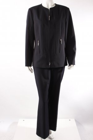 Vintage suit dark blue