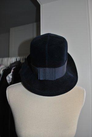 Vintage Klokhoed donkerblauw