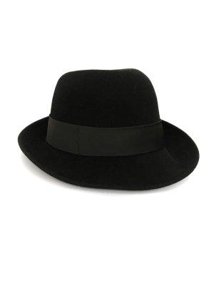 Chapeau en feutre noir