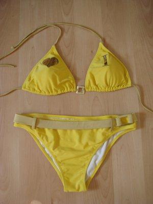 Bikini giallo-giallo scuro Poliestere