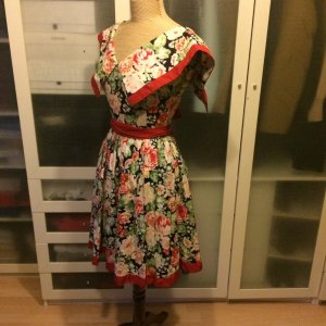 Vintage Il Marchese Copapani Kleid 60er Jahre Gr. 34 top Zustand