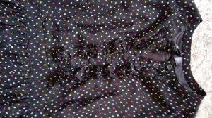 Vintage inspired H&M Divided black chiffon dress