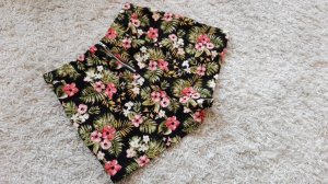 Vintage Inspired high waisted shorts