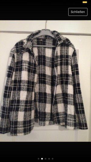 Tweed Blazer white-black