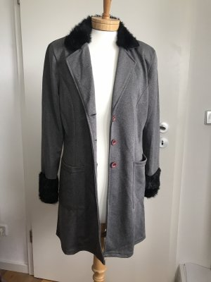 Vintage Short Coat multicolored polyester