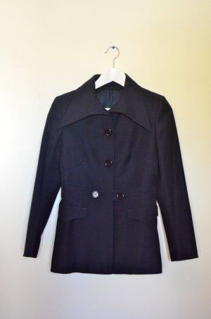 Vintage Jacke marineblau Größe 38