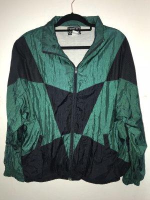 Vintage Oversized Jacket black-dark green